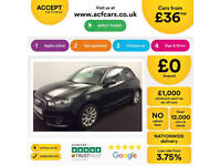 AUDI A1 1.6 2.0 TDI SPORT S LINE BLACK EDITION 3 DOOR NAV FROM £36 PER WEEK!