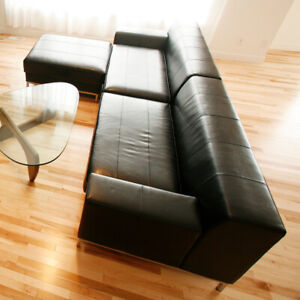 High Quality Modern Large Leather Sectional