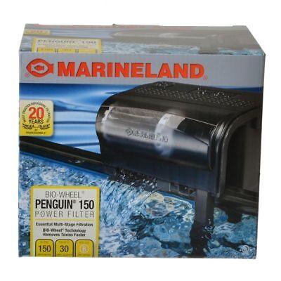Marineland Penguin 150B Bio Wheel Power Filter (150 GPH 20 to 30-Gallon Tank)