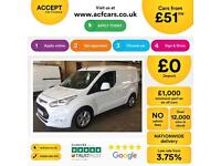 Ford Transit Connect L1 Limited FROM £51 PER WEEK!