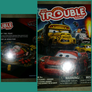 Brand new in box Trouble game