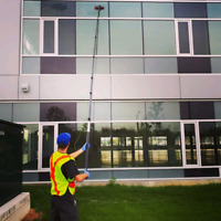 Surface and fall cleanup services