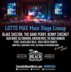 Looking for 2 VIP weekend passes to CBMF 2016