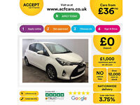 TOYOTA YARIS 1.3 1.5 VVT-I HYBRID ACTIVE DESIGN SPORT FROM £36 PER WEEK!