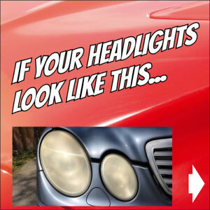 Clear/Buff Car Headlights at your home or workplace