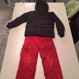 Manteau d'hiver 12 ans Orage et Ripzone