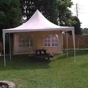 4m×4m Party Tent With Windowed Side Walls