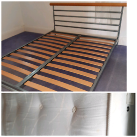 Strong Double bed + mattress (delivery available