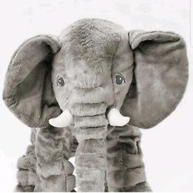 Ikea Jattestor Elephant Soft Toy 60 cm