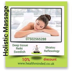 Mobile massage therapist in London