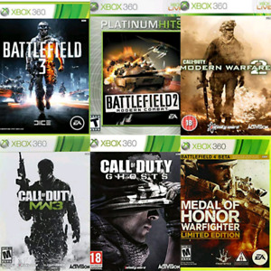 First Person Shooters Xbox 360