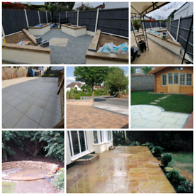 Gardening and Landscaping/Paving/Slabs/Fences