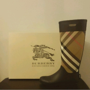 Authentic Burberry Rain Boot - Size 37