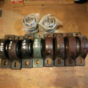 Bourgault 5710 air seeder gang packer bearings, pillow blocks
