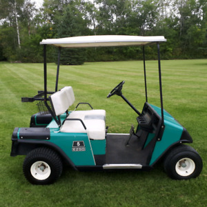 EZ-GO gas golf cart