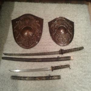 Bouclier et épée