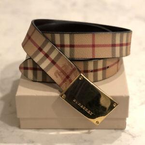 Burberry Classic Check Belt