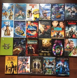 Various Disney and other DVDs