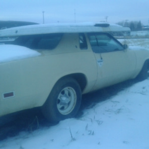 1976 Oldsmobile Cutlass Salon project car