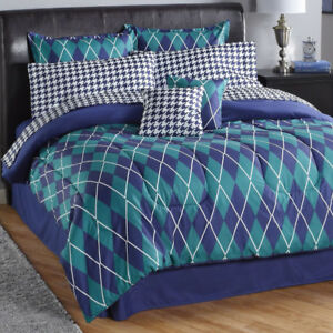 Baldwin 8pc Bed Set Full , New