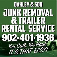 Oakley & Son Junk Removal & Trailer Rental Service