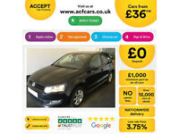 VOLKSWAGEN POLO 1.2 TDI SE  MATCH S 1.4 TSI 1.6 TDI R LINE FROM £36 PER WEEK