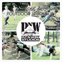 Indoor/Outdoor workout - FREE for all ages and fitness level