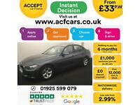 2014 GREY BMW 320D 2.0 EFFICIENT DYNAMICS DIESEL MAN SALOON CAR FINANCE FR 33 PW