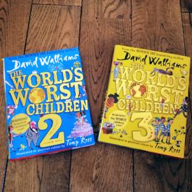 2 x David Walliams Books