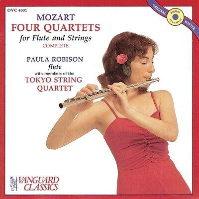 String Quartet Members (Paula Robison with Tokyo String Quartet Members - Mozart Four Quartets)