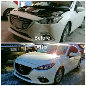 Autobody Car Repair / Carrosserie automobile