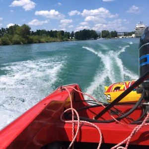 16ft Mercury 115hp Tower or Power boat