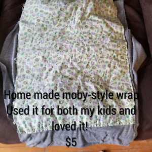 Homemade moby style wrap