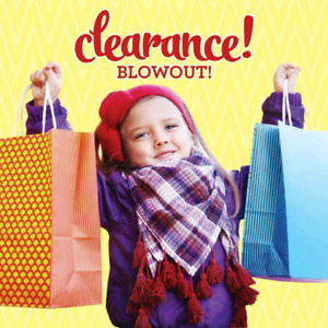 50% off clearances items!