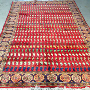 Handmade Persian Rug,Size 9.6 x 6.1 ft,wool,