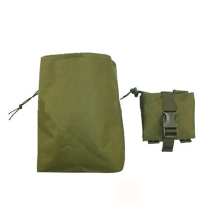 Molle collapsable dump pouch for paintball / Airsoft