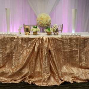 Event decor RENTALS and DECORATING services