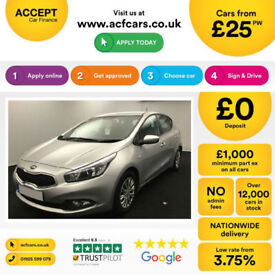 Kia ceed FROM £25 PER WEEK!