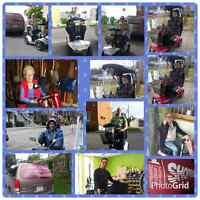 Quadriporteur fauteuils motorisés