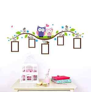 Owl wall decal brand new in package