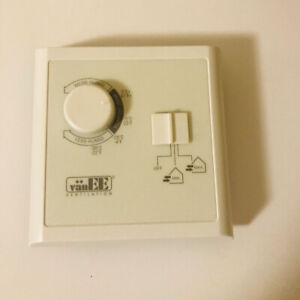 VanEE air exchanger HRV bronze wall control unit