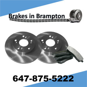 Toyota Corolla with Rear Disc 2009–15 Rear Brake Pads and Rotors