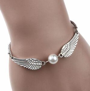 Silver Angel Wings & Infinity Knot BRAND NEW Bracelets-Bargains+