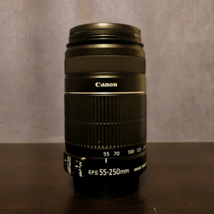 Canon EF-s 55-250mm f/4-5.6 IS II Telephoto Lens