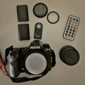 Pentax K5 and Da 21mm limited
