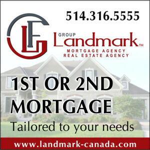 LOOKING FOR 1ST OR 2ND MORTGAGE ?