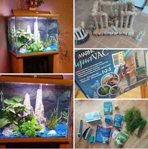 Aquarium 37 gallons tout équipée! Gatineau Ottawa / Gatineau Area image 3