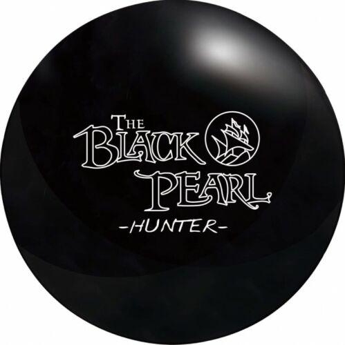NEW Legends The Black Pearl Hunter Reactive Bowling Ball, Black, 14 & 15 LB