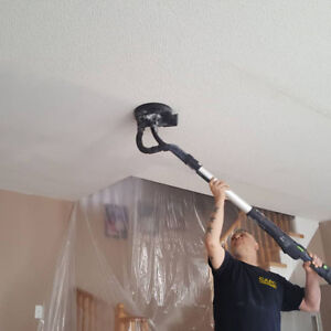 Popcorn/Stucco Ceiling Removal !PROFESSIONAL AND CLEAN!
