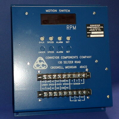 Conveyer Components 120vac Motion Switch Msd-700rw New